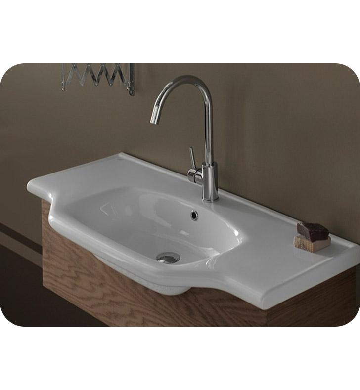 Nameeks 081300 u cerastyle bathroom sink for Nameeks bathroom sinks
