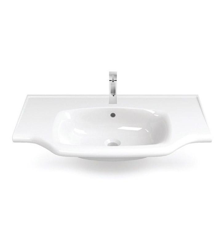 Nameeks 081200 u cerastyle bathroom sink for Nameeks bathroom sinks