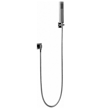 Graff G-8649-SN Square Handshower with Wall Bracket With Finish: Steelnox (Satin Nickel)