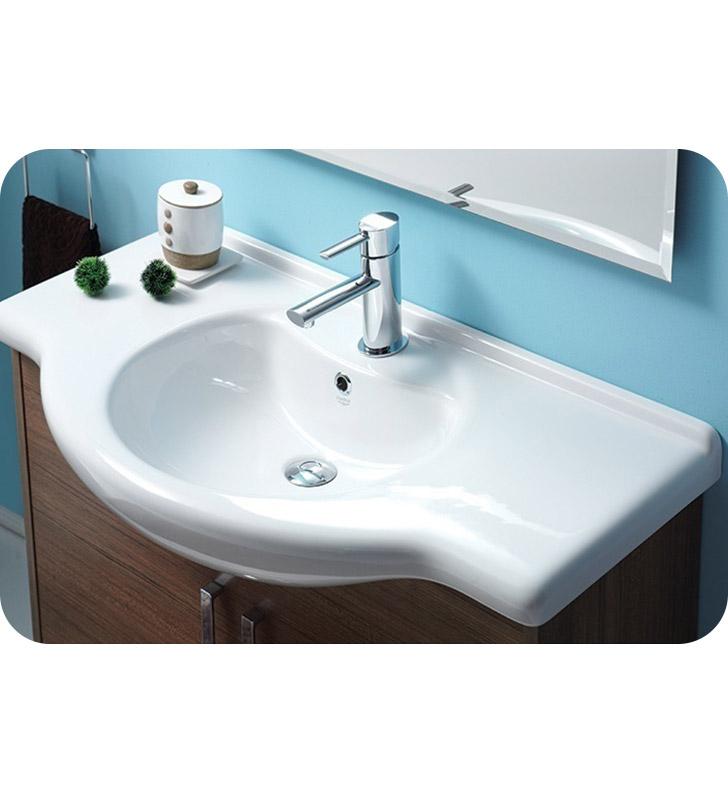 Nameeks 066500 u cerastyle bathroom sink for Nameeks bathroom sinks