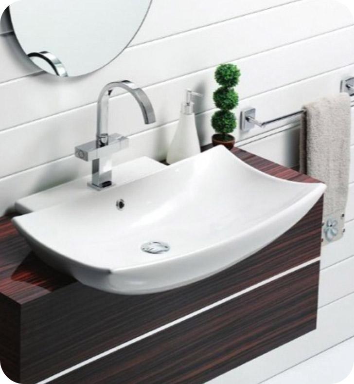 Nameeks 074800 u cerastyle bathroom sink for Nameeks bathroom sinks