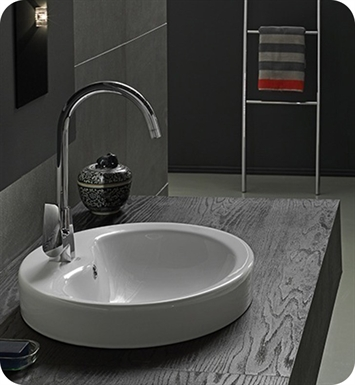 Nameeks 074000-U CeraStyle Bathroom Sink