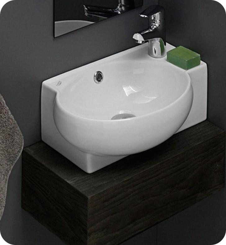 Nameeks 001300 u cerastyle bathroom sink for Nameeks bathroom sinks