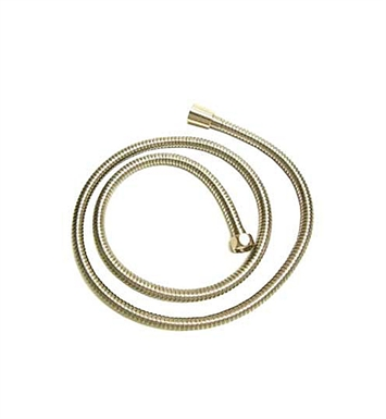 Whitehaus WH1030-BN Double Interlock Brass Shower Hose With Finish: Brushed Nickel