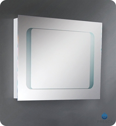 Fresca FMR8055 Vistoso and Lussuria Bathroom Mirror w/ Frosted Inner Border