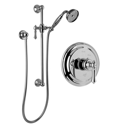 Graff G-7117-LM15S Traditional Pressure Balancing Shower Set with Handshower and Slide Bar