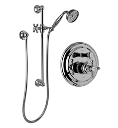 Graff G-7117-C2S Traditional Pressure Balancing Shower Set with Handshower and Slide Bar