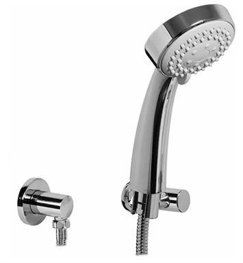 Graff G-8629-BNi Multi Function Handshower with Wall Bracket With Finish: Brushed Nickel