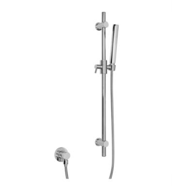 "Graff G-8660-BNI 27 5/8"" Contemporary Wall Mount Slide Bar with Handshower With Finish: Brushed Nickel"