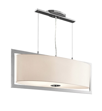 Kichler 43360CH Arbon Collection Pendant 6 Light in Chrome