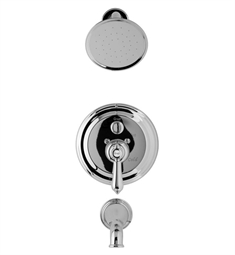 Graff G-7165-LM34S Traditional Pressure Balancing Tub and Shower Set