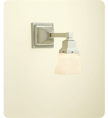 Robern MLLWSBN M Series MLLWS Wall Sconce Light In Brushed Nickel