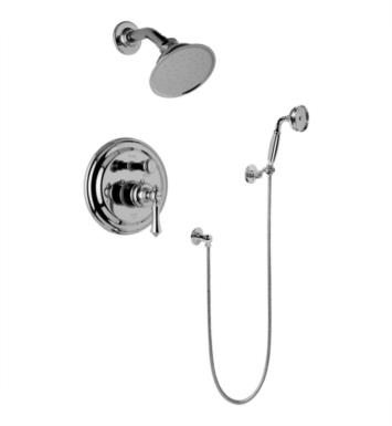 Graff G-7167-LM15S-PC Canterbury Full Pressure Balancing System Shower with Handshower With Finish: Polished Chrome And Rough / Valve: Rough