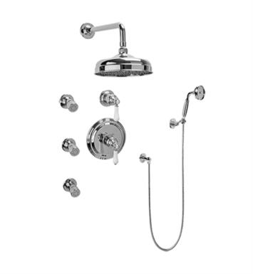 Graff GA5.222B-LC1S Canterbury Full Thermostatic Shower System with Diverter Valve