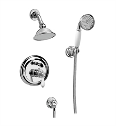 Graff G-7167-LC1S Traditional Pressure Balancing Shower Set with Handshower