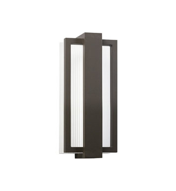 Kichler 49492AZ Sedo Collection 1 Light Outdoor Wall Sconce in Architectural Bronze