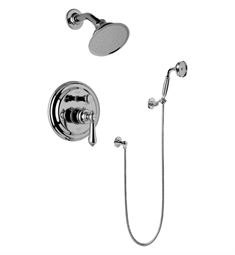 Graff G-7167-LM34S Traditional Pressure Balancing Shower Set with Handshower