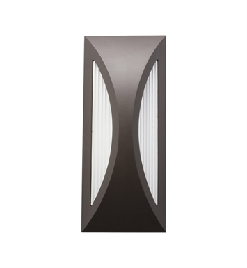 Kichler 49494AZ One Light Outdoor Wall Sconce in Architectural Bronze