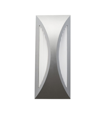 Kichler 49494PL One Light Outdoor Wall Sconce in Platinum
