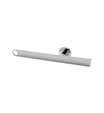Graff G-9207-PC Tissue Holder and Towel Bar With Finish: Polished Chrome