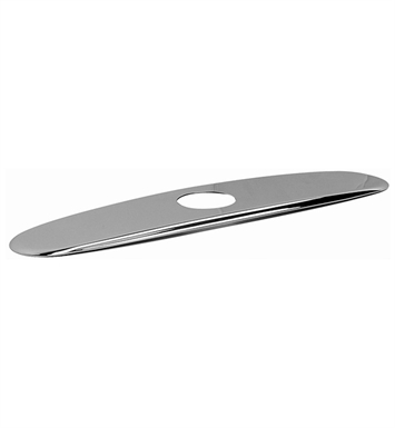 Graff G-9912-PC 10inch Base Plate With Finish: Polished Chrome