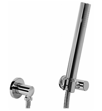 Graff G-8619-PC Contemporary Handshower with Wall Bracket With Finish: Polished Chrome