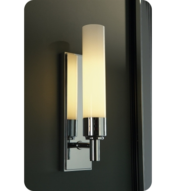 Robern MLLWMDCR Metallique Wall Sconce Light in Chrome