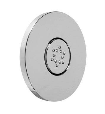 "Graff G-8495-PC 4 3/4"" Flush Mount Round Body Spray with Solid Brass Swivel Head With Finish: Polished Chrome"