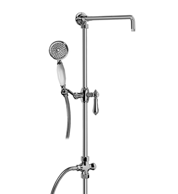 Graff G-8934-LM34S-PN Exposed Riser with Handshower With Finish: Polished Nickel