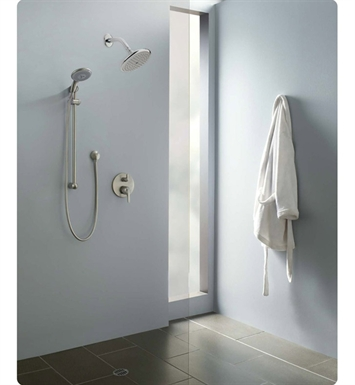 "Hansgrohe ESHOWERSYS2 ""E"" Shower System with Handshower Set in Chrome"