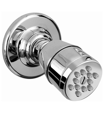 Graff G-8480-SN Traditional Body Spray w/ Solid Brass Swivel Head With Finish: Steelnox (Satin Nickel)