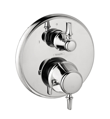 Hansgrohe 04220000 C Thermostatic Trim with Volume Control in Chrome