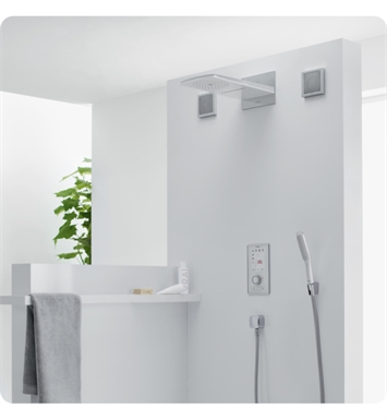"Hansgrohe 28433 Raindance 17 1/2"" Wall Mount Rectangular 2-Jet Overhead Shower"