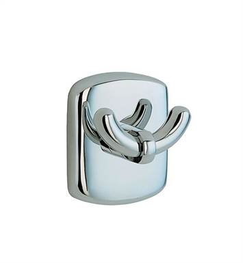 Smedbo CK356 Cabin Hook Double in Polished Chrome