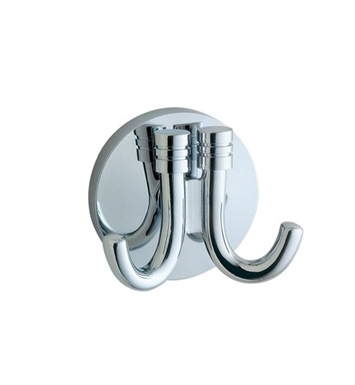 Smedbo NK356 Studio Hook Double in Polished Chrome