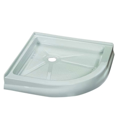 Fleurco Round Acrylic Corner Shower Base