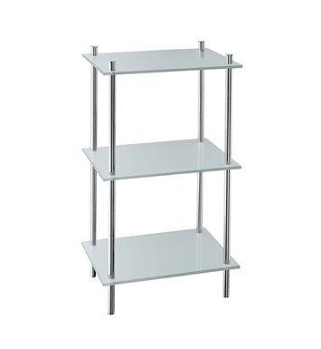 Smedbo FK453 Outline Shelf Free Standing in Polished Chrome
