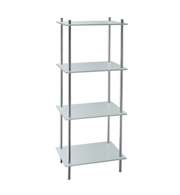 Smedbo FK454 Outline Shelf Free Standing in Polished Chrome