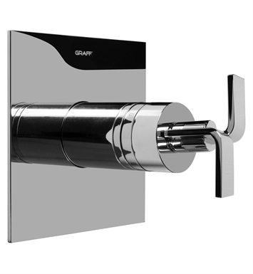Graff G-8041-C9S-SN Thermostatic Valve Trim with Handle With Finish: Steelnox (Satin Nickel)