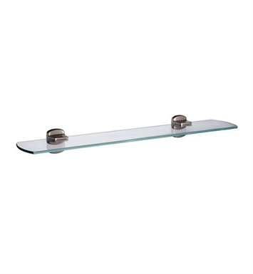 Smedbo C347N Cabin Shelf Wallmount in Brushed Nickel