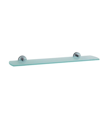 Smedbo LS347 Loft Shelf Wallmount in Brushed Chrome