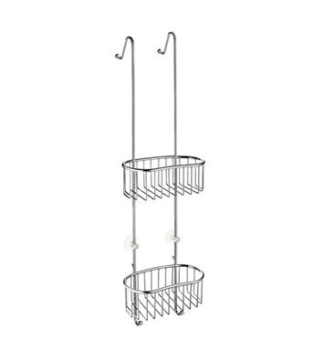 Smedbo DK1047 Sideline Shower Basket in Polished Chrome