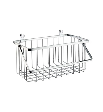 Smedbo DK1075 Sideline Shower Basket in Polished Chrome