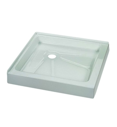 Fleurco Square Acrylic Corner Shower Base
