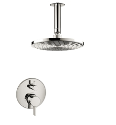 "Hansgrohe HG-S-SHOWERSYS1 ""S"" Shower System in Chrome"