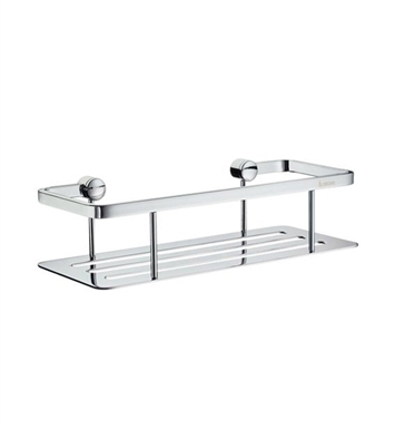 Smedbo AK374 Air Soap Basket Straight 1 Level in Polished Chrome