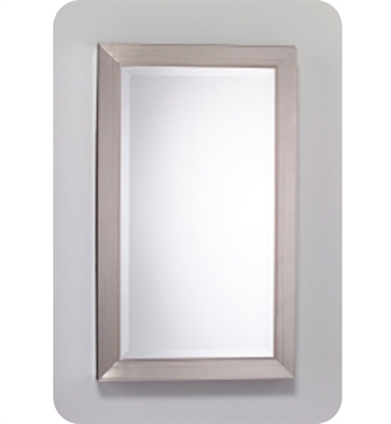 "Robern MPM24MDBN Metallique 23"" x 39 1/8"" Framed Wall Mirror in Brushed Nickel"
