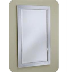 "Robern Metallique 23"" x 39 1/8"" Framed Wall Mirror"