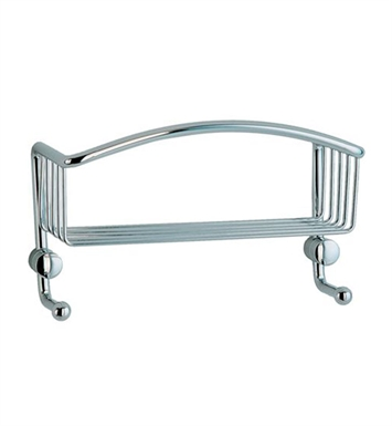 Smedbo CK374 Cabin Soap Basket Straight 1 Level in Polished Chrome
