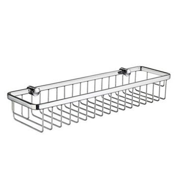 Smedbo DK2005 Sideline Soap Basket Straight 1 Level in Polished Chrome